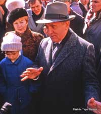 Raisa and Mihail Gorbachev